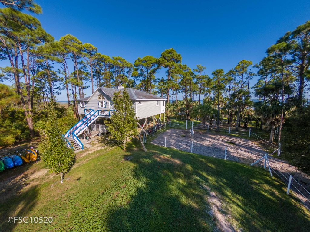 775 Cape San Blas road is the perfect horse property for sale on Cape San Blas