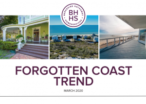 Forgotten Coast Trend email newsletter header